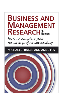 Business & Management Research 3e