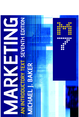 Marketing: An Introductory Text 7th Edition